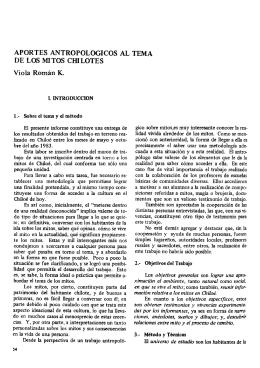 APORTES ANTROPOLÓGICOS AL TEMA