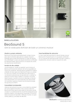 BeoSound 5 - Bang & Olufsen