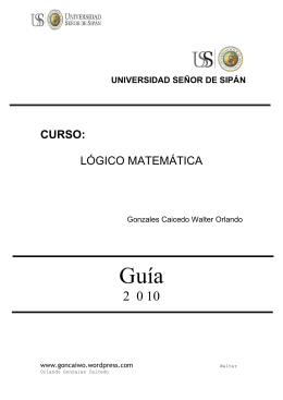 Lógica proposicional - matemática