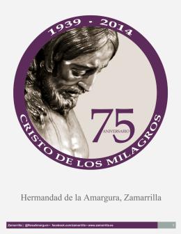 Dossier 75º Aniversario - Cofradía de Zamarrilla