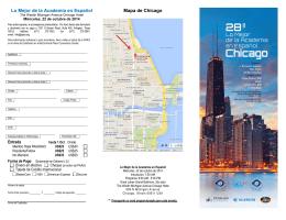 Lo Mejor de la Academia en Español Mapa de Chicago