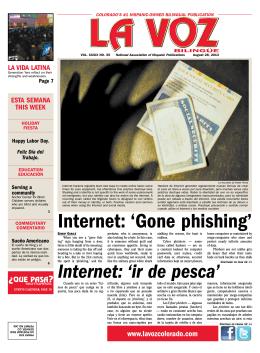 internet: `Gone phishing`