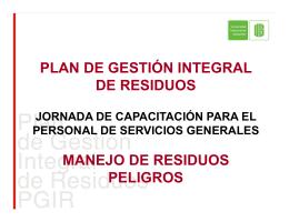 residuos peligrosos - Universidad Industrial de Santander