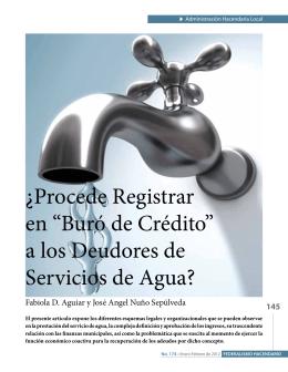 """¿Procede Registrar en """"Buró de Crédito"""" a los Deudores de"""