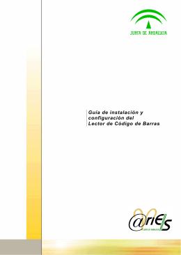Guía de instalación y configuración del Lector de Código de Barras