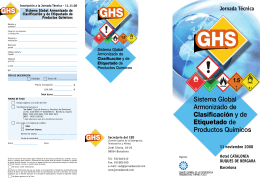 GHS GHS - SusChem