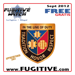 September 2012 - Fugitive Watch
