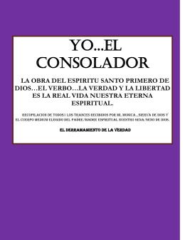 YO...EL CONSOLADOR