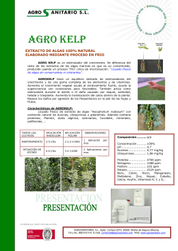 Agro Kelp - AgroSanitario SL
