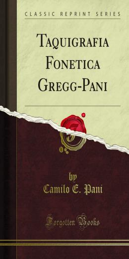 Taquigrafia Fonetica Gregg-Pani