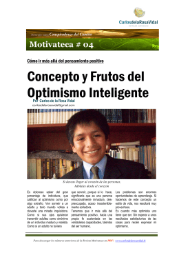 El Optimismo Inteligente