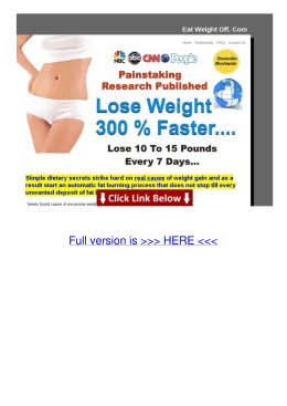 Info Eat-weight-off Lose 10 To 15 Pounds In One Week