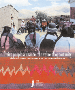 Giving people a chance: the value of opportunity