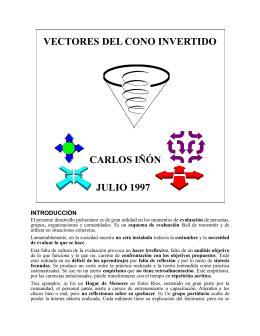 Vectores del Cono Invertido, Carlos Iñón