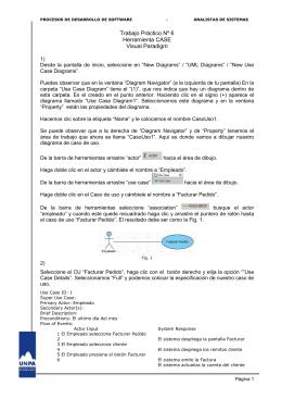 Herramienta Case - Carreras de Sistemas - UARG