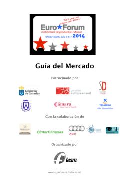 GUIA EUROFORUM 2014 - EuroForum 2015