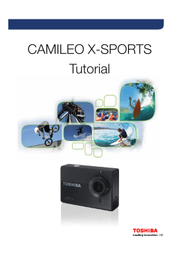 Misceláneos - CAMILEO X-SPORTS Tutorial