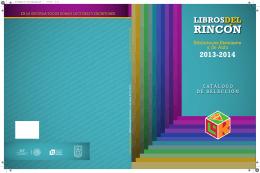 Catálogo Libros del Rincón 2013-2014