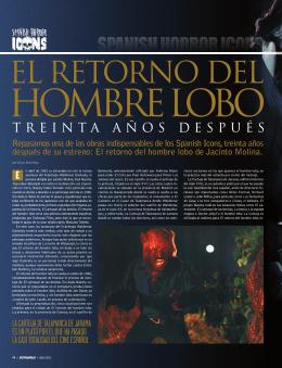 El retorno del hombre lobo de Jacinto Molina.