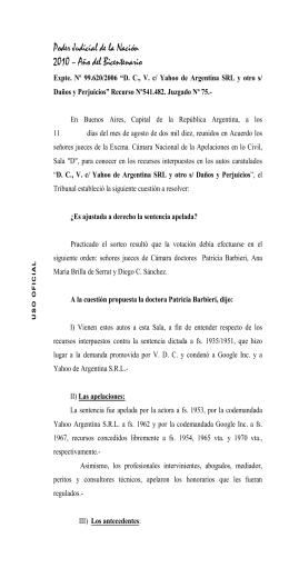 Autogenerado - Diario Judicial