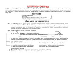 Descarga - Directorios en México