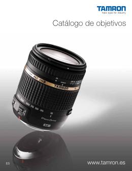 Catálogo de objetivos