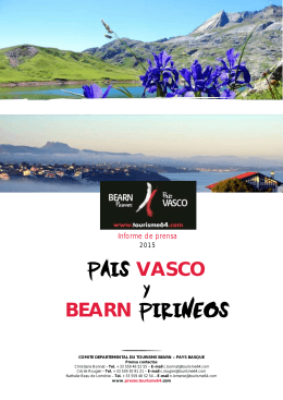 PAIS VASCO y BEARN PIRINEOS - tourisme64
