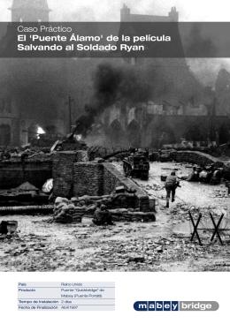 El `Puente Álamo` de la película Salvando al Soldado Ryan