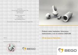 Prótesis sobre implantes: Soluciones tradicionales y con el