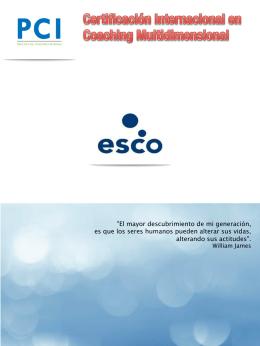 Programa de la certificación