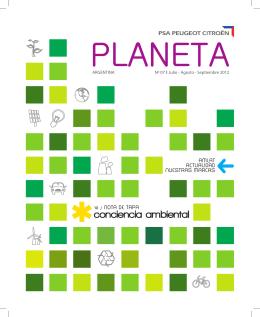 conciencia ambiental - PSA Peugeot Citroën Argentina