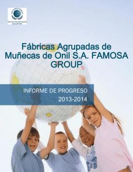 Fábricas Agrupadas de Muñecas de Onil S.A. FAMOSA GROUP