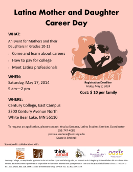 Latina Mother and Daughter Career Day