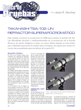 Takahashi TSA-102s - Enfoque Astronómico