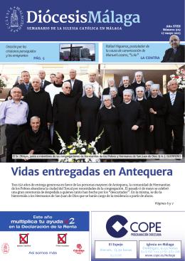 Vidas entregadas en Antequera