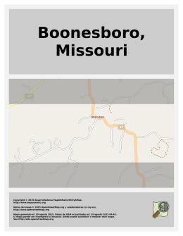 Boonesboro, Missouri
