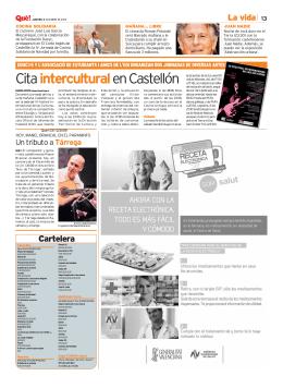Cartelera - Universitat Jaume I
