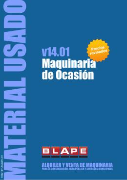 v14.01 Maquinaria de Ocasión