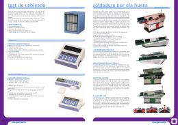 Catálogo 2012-2013: Máquinas de soldar