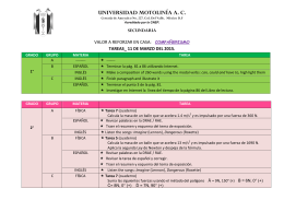 Tarea 11 de marzo - Universidad Motolinía