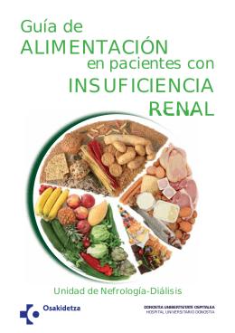 Guía de alimentación en pacientes con insuficiencia renal