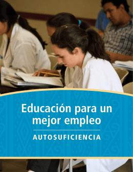 Educación para un mejor empleo