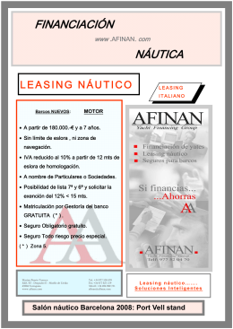 Leasing náutico AFINAN-BS LEASING-italiano