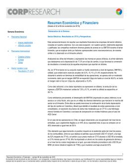 Resumen Económico y Financiero