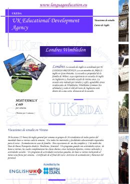 Londres - Wimbledon Vacaciones de estudio