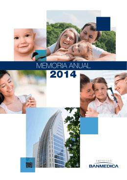 MEMORIA ANUAL 2014 - Empresas Banmedica