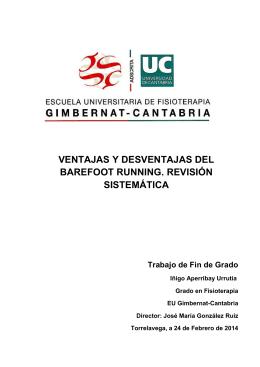 VENTAJAS Y DESVENTAJAS DEL BAREFOOT RUNNING
