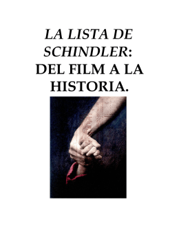 LA LISTA DE SCHINDLER: