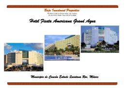Hotel Fiesta Americana Grand Aqua