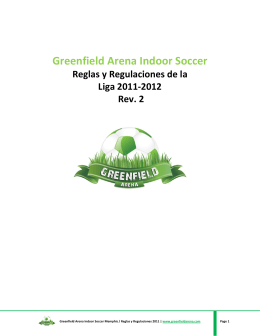 Greenfield Arena Indoor Soccer